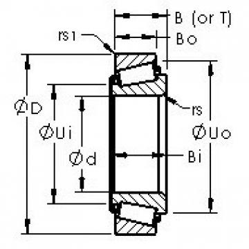 AST 3775/3720 tapered roller bearings