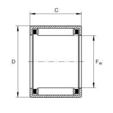 INA SCH1310 needle roller bearings