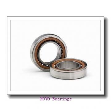 228,6 mm x 266,7 mm x 19,05 mm  KOYO KFX090 angular contact ball bearings